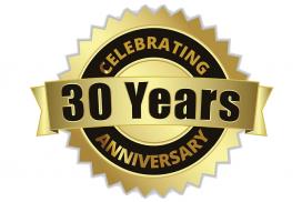 30 Years Celebrating 100% Customer Satisfaction